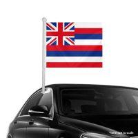 Hawaii Window Clip-on Flag