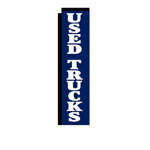 used trucks rectangle flag