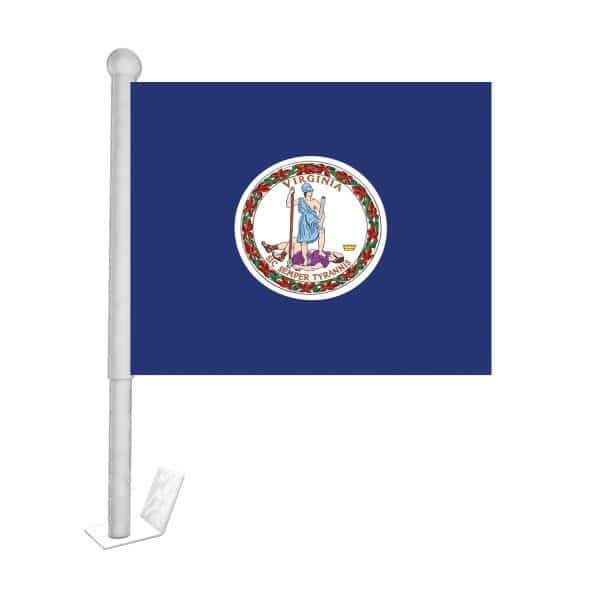 virginia state car flag