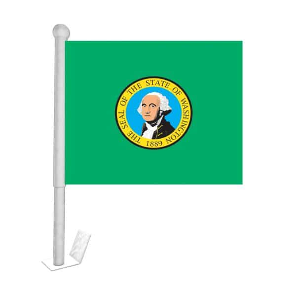 washington state car flag