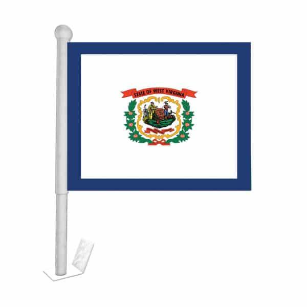 west virginia state car flag