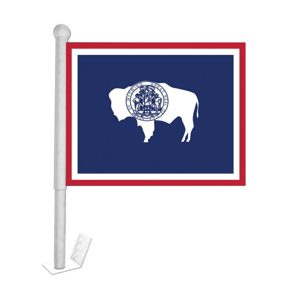 wyoming state car flag