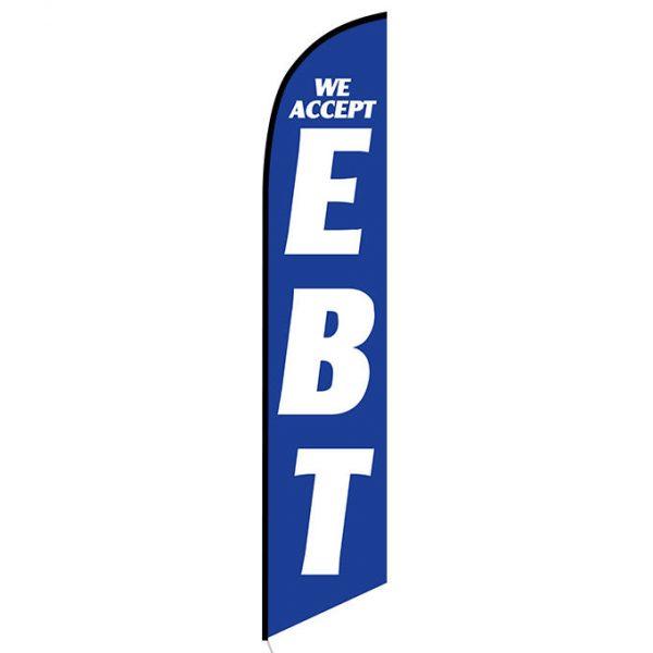 We Accept EBT Feather Flag