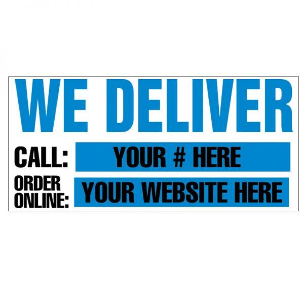 We Deliver (Blue) Vinyl