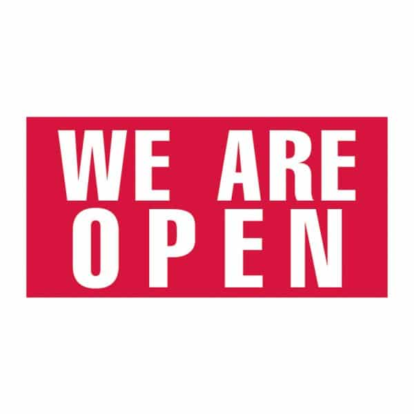 We are Open Vinyl