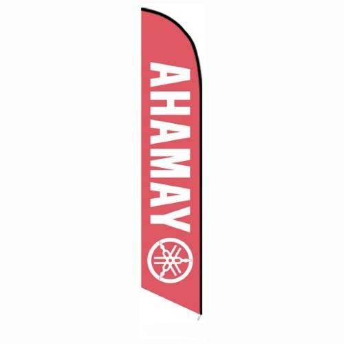 Yamaha feather banner flag