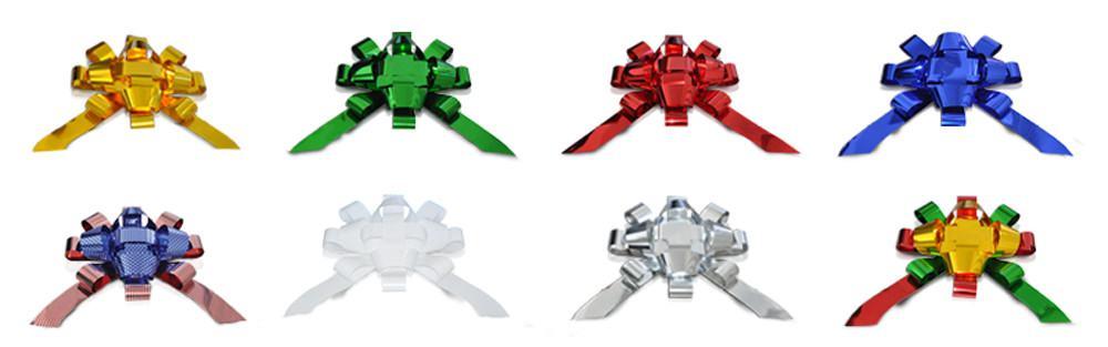 Jumbo Magnetic Metallic Bows for Auto Dealerships.