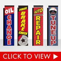 Auto Repair Advertising Flags