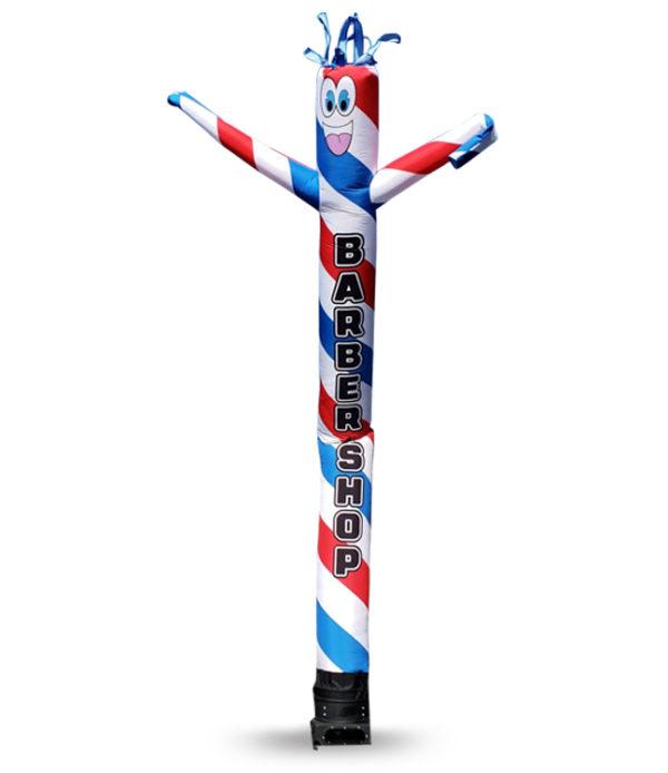 barber shop inflatable tube man