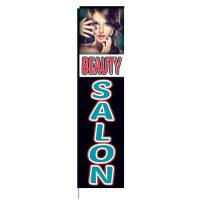 Beauty Salon Rectangle Flag