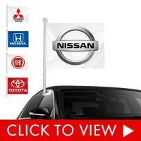 Auto Dealership Window clip-ons