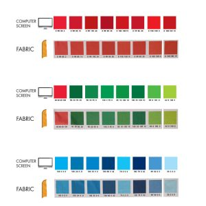 fabric color-swatches pantone color matching