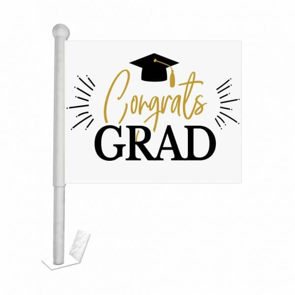 congrats-grad-car-flag-custom