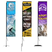 Custom Rectangle Banner Flags
