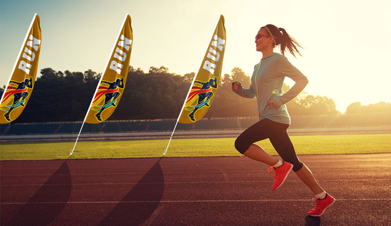 flutter-flags-marathon-run