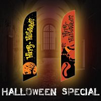 Halloween Feather Flags Special – Huge Savings!