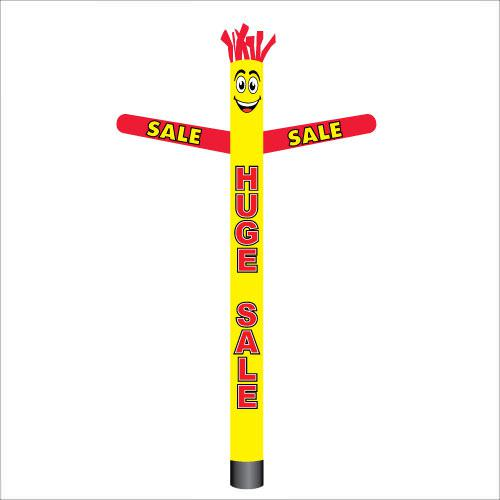 Yellow and red HUGE SALE air dancer inflatable tube man.