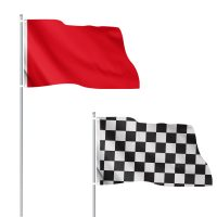 3x5 Solid and Checkered Flags