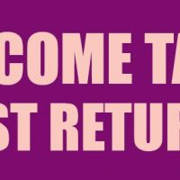 Income Tax Fast Returns Sign Banner 4X8