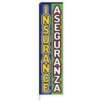 Insurance Aseguranza Rectangle Flag