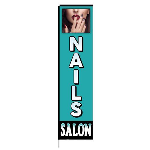 nails salon-rectangle-flag-10179