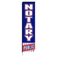 Notary Public Rectangle Flag