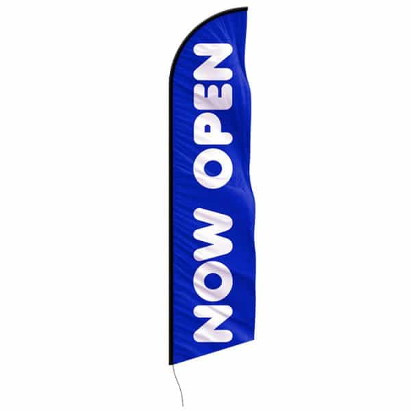 now-open-custom-feather-flag-blue