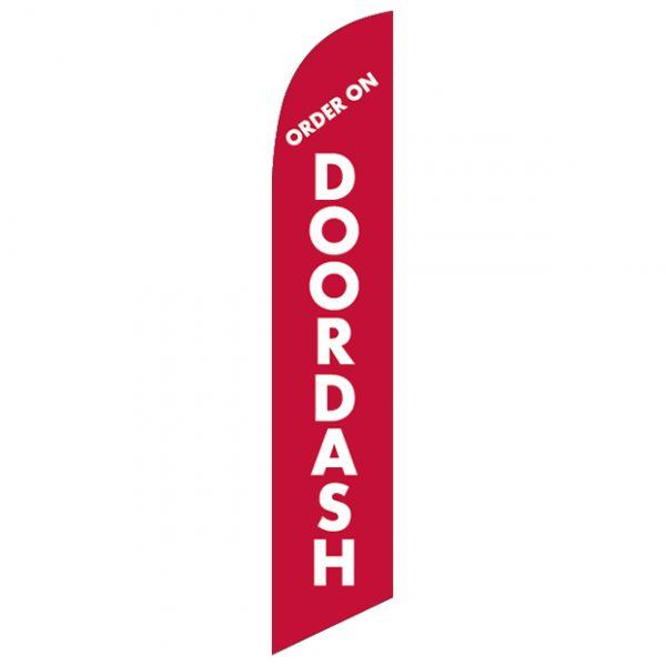 order-on-Doordash-Feather-Flag-FFN-99954