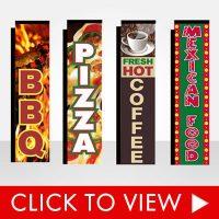Restaurant Banner Flags