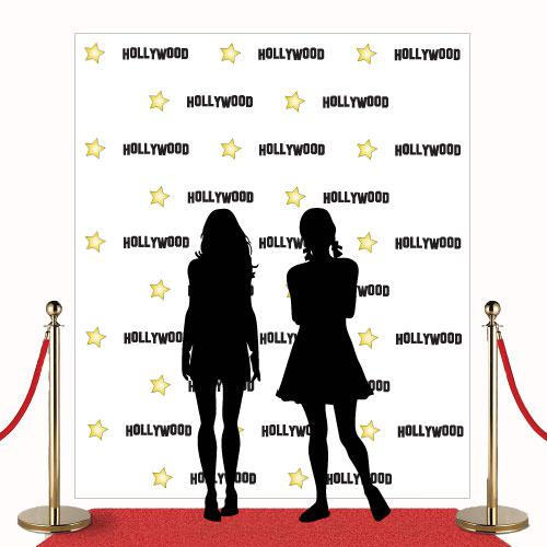 Step and Repeat Red Carpet Sign