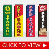 Storage Banner Flags