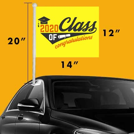 student-graduation-car-flags