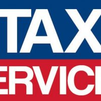 Tax Services With Stars 4×8 Vinyl Banner