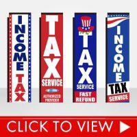 Tax Season Banner Flags