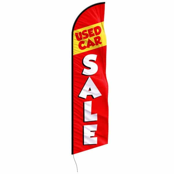 used-car-sale-feather-flags---custom-12ft-feather-flags