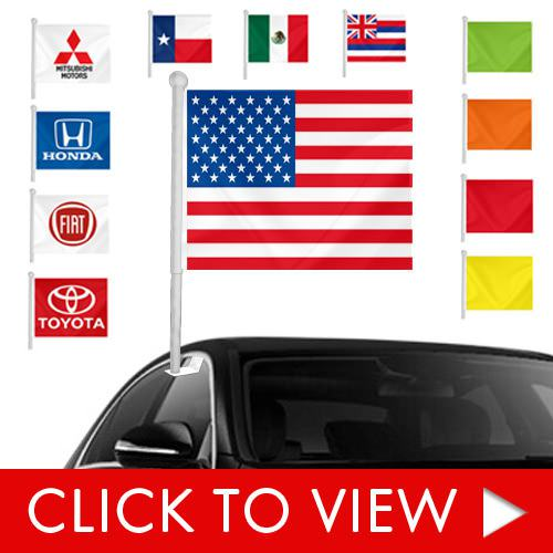 Stock window clip-on flags main category page image.