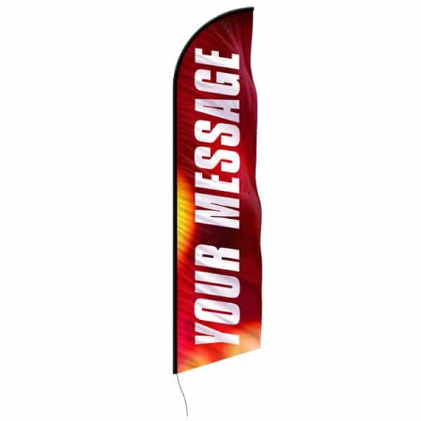 your-message-feather-flags-custom-banner